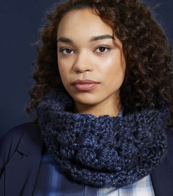 How To Make a Lion Brand Hometown Kittery Cowl