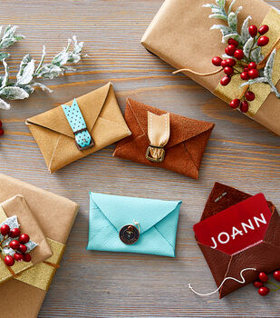 How To Make Leather Gift Card Holder
