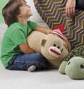 Sock Monkey Pillow Pal