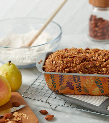 How To Make A Pear Crumble Loaf