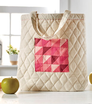 How To Make a Quilted Pocket Tote