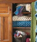 Loom Knit Pale Flurries Scarf