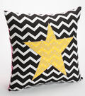 Slumber Party Star Pillow