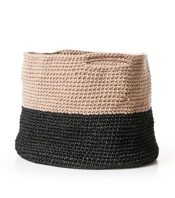 How To Make A Bernat Maker Outdoor Handy Crochet Basket