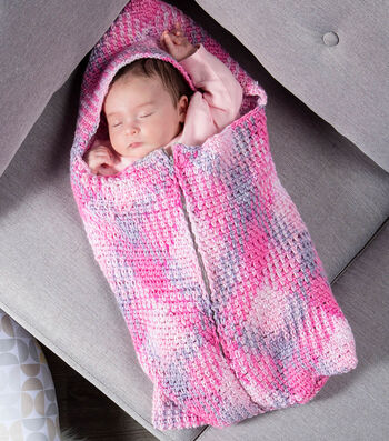 How To Make A Premier Yarns Everyday Plaid Wee Bairn Sleep Sack