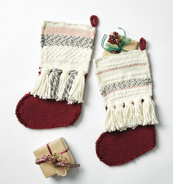 How To Make A Woven Stocking