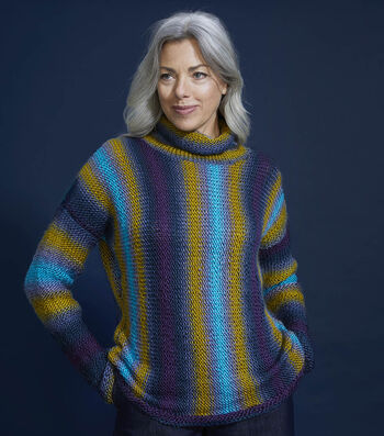 How To Make a Lion Brand Landscapes Stretton Pullover