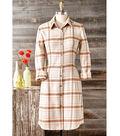 How To Make A Plaid Flannel Dress