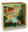 Vintage Floral Shadow Box