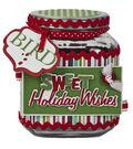 Sweet Holiday Wishes Jar