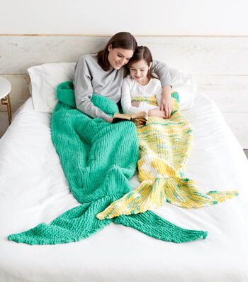Knit Mermaid Snuggle Sacks