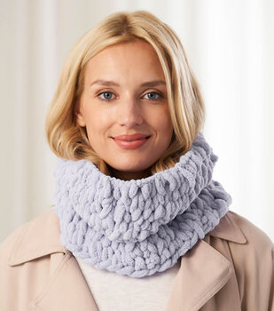 How to Make a Lion Brand Off the Hook Cambria Cowl