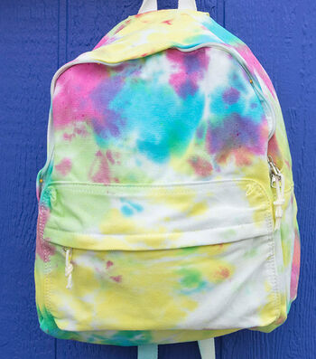 How To Make A Neon Tie-Dye Backpack