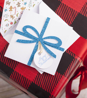 How To Make A Christmas Present Card