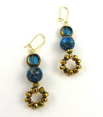 Lapis Luxe Earrings