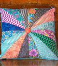 Pinwheel Button Pillow