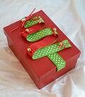 Christmas Quick Craft Holiday Ribbon Box