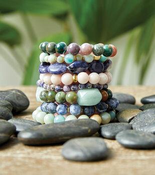 How To Make A Bangle Bright Bead Bracelets