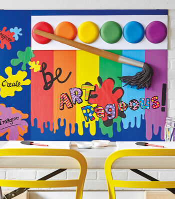 How To Make An Art Bulletin Board