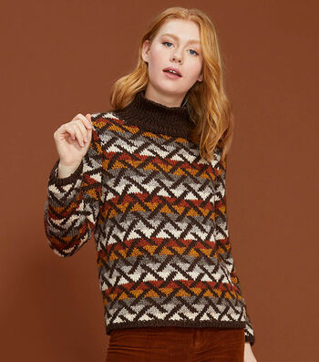 How to Make a Lion Brand Heartland Knit Camilla Pullover