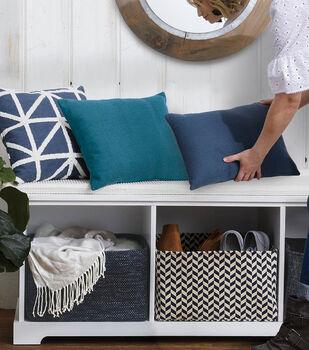 "How To Make a 15"" Fabric Basket"