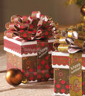 hAppy Holidays Gift Box and Bow