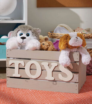 How To Make A Milk Painted Toy Crate