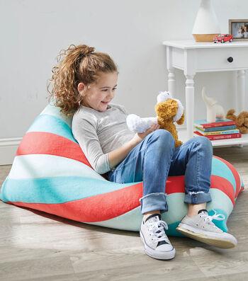 How To Make A Stripe Triangle Bean Bag Chair