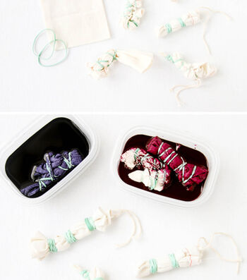 How To Make Dyed Treat Bags