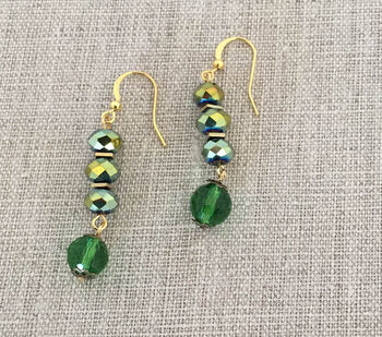 How To Make Evergreen Earrings