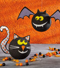 How to Make a Halloween Cat and Bat