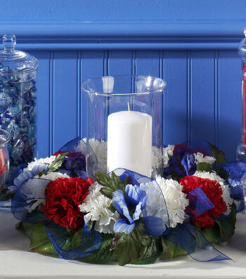 Patriotic Candle Ring