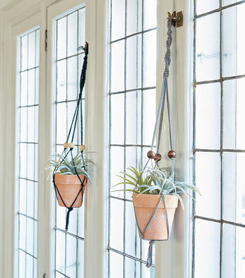 How To Make A Lily Sugar'N Cream Macrame Plant Hanger