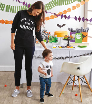 How To Make Cricut Halloween Paper Banners And T-ShirtT