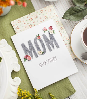 How to Make a Mom You Are Wonderful Card
