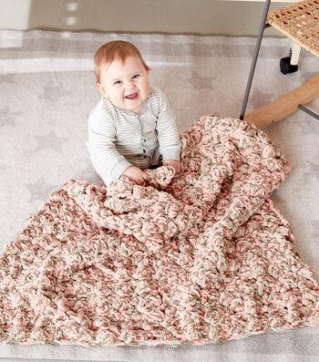 How To Make A Criss Cross Crochet BABY BLANKET