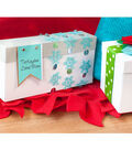 Snowflake Gift Box and Tag