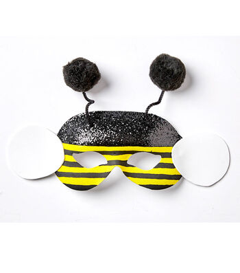 How To Make A Bumblebee Mask