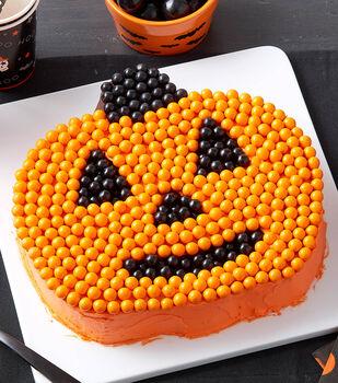 How To Make A Jack-O'-Lantern Cake