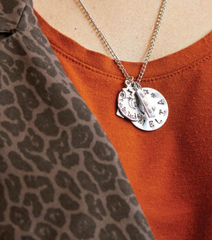 How To Make a Stamped Necklace