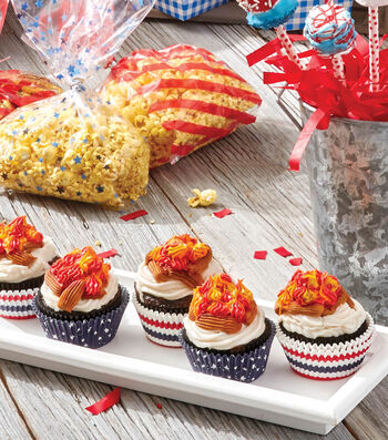 How To Make a Campfire Cupcakes
