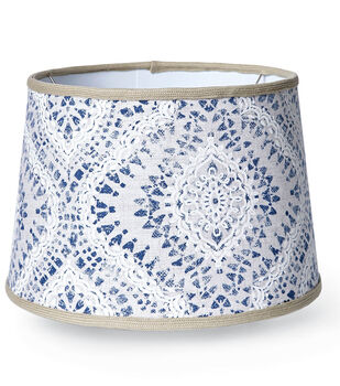 How To Make A Covered Lampshade