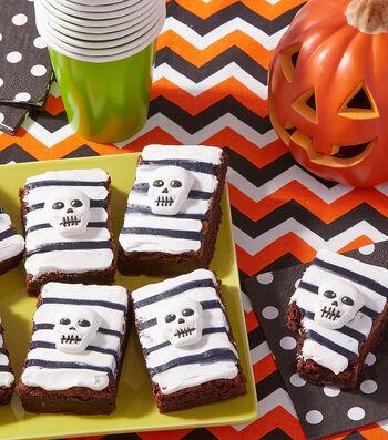 How To Make Skeleton Brownies