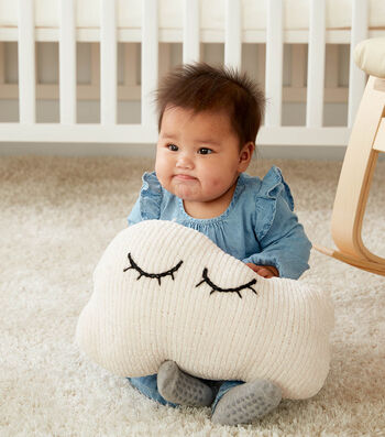 How To Make a Knit Cloud Pillow