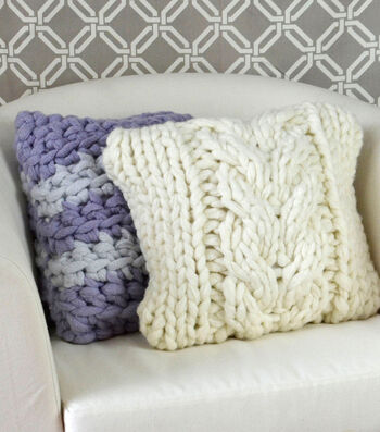How To Make  A Couture Cable Pillow