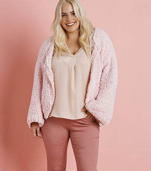 How To Make A Boucle-Feels Like Butta Pink Happens Cardigan