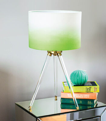 How To Make An Ombre Dyed Lampshade