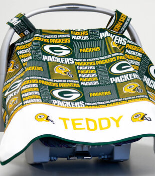 How To Sew A NFL Car Seat Cover