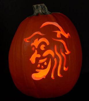 Patterned Pumpkin Carving