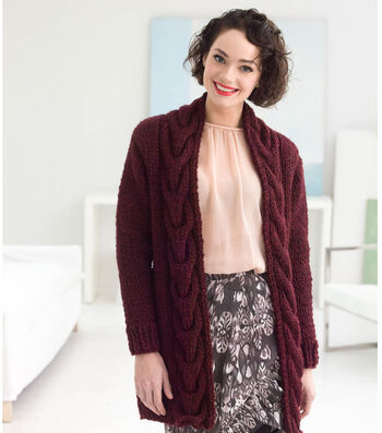 How To Knit A Westport Cabled Cardigan